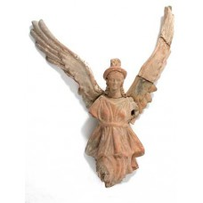 Фигурка на крилат гений на смъртта.